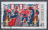 Poštovní známka Švédsko 1973 Vánoce Mi# 828
