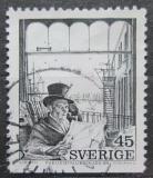 Poštovní známka Švédsko 1974 Grafika, Axel Fridell Mi# 862 Du