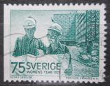 Poštovní známka Švédsko 1975 Stavební inženýři Mi# 892 Dl