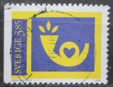 Poštovní známka Švédsko 1996 Poštovní trubka Mi# 1961