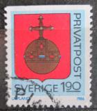 Poštovní známka Švédsko 1986 Znak Uppland Mi# 1387