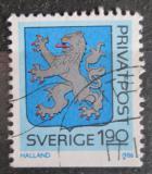 Poštovní známka Švédsko 1986 Znak Halland Mi# 1388