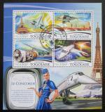 Poštovní známky Togo 2015 Concorde Mi# 6804-07 Kat 16€