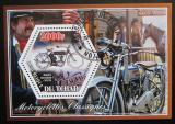 Poštovní známka Poštovní známky Čad 2014 Klasické motocykly Mi# N/N
