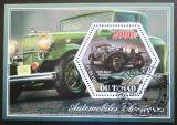 Poštovní známka Čad 2014 Klasické automobily Mi# N/N