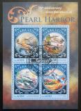 Poštovní známky Sierra Leone 2016 Útok na Pearl Harbor Mi# 6968-71 Kat 11€