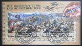 Poštovní známky Sierra Leone 2015 Konec Vietnamské války Mi# 6647-50 Kat 11€