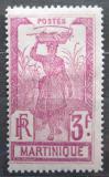 Poštovní známka Martinik 1930 Žena s ananasem Mi# 105 Kat 12€