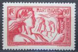Poštovní známka Martinik 1937 Výstava v Paříži Mi# 165