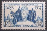 Poštovní známka Martinik 1937 Výstava v Paříži Mi# 166