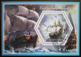 Poštovní známka Čad 2015 Staré plachetnice Mi# N/N