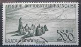 Poštovní známka Francouzská Západní Afrika 1947 Letadlo Mi# 56
