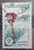Poštovní známka Nová Kaledonie 1960 Poštovní schránka Mi# 372