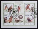 Poštovní známky Komory 2009 Luňák hnědý Mi# 2382-86 Kat 9€