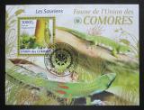 Poštovní známka Komory 2009 Ještěrky Mi# Block 513 Kat 15€