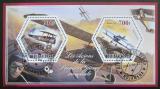 Poštovní známky Čad 2015 Historická letadla Mi# N/N