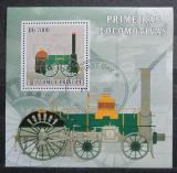 Poštovní známka Svatý Tomáš 2007 Lokomotiva Liverpool Mi# 3059 Block