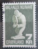Poštovní známka Grónsko 1979 Umění, Simon Kristoffersen Mi# 117