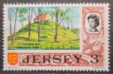 Poštovní známka Jersey, Velká Británie 1970 Prehistorický hrob Mi # 39
