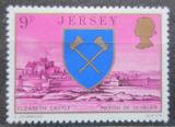 Poštovní známka Jersey, Velká Británie 1976 Zámek Elisabeth Mi # 137