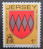 Poštovní známka Jersey, Velká Británie 1981 Erb rodiny De Carteret Mi # 243 A