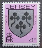 Poštovní známka Jersey, Velká Británie 1981 Erb rodiny Payn Mi # 246 A