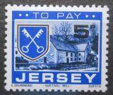 Poštovní známka Jersey, Velká Británie 1978 Znak St. Peter, doplatní Mi # 25