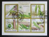 Poštovní známky Komory 2009 Ještěrky Mi# 2346-50 Kat 10€