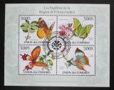 Poštovní známky Komory 2009 Motýli Mi# 2667-70 Kat 9€