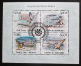 Poštovní známky Komory 2009 Ptáci a přístavy Mi# 2701-04 Kat 9€