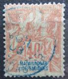 Poštovní známka Madagaskar 1896 Koloniální alegorie Mi# 37 Kat 4€