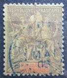 Poštovní známka Madagaskar 1896 Koloniální alegorie Mi# 39