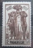 Poštovní známka Madagaskar 1937 Výstava v Paříži Mi# 243