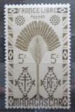 Poštovní známka Madagaskar 1943 Strom cestovatelů Mi# 350
