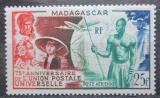 Poštovní známka Madagaskar 1949 UPU, 75. výročí Mi# 418 Kat 5.50€