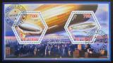 Poštovní známky Čad 2015 Vzducholodě Mi# N/N