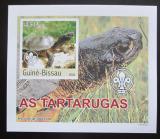 Poštovní známka Guinea-Bissau 2003 Želvy DELUXE neperf. Mi# 2578 B Block