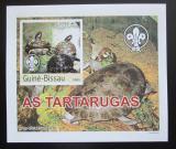 Poštovní známka Guinea-Bissau 2003 Želvy DELUXE neperf. Mi# 2581 B Block