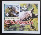 Poštovní známka Guinea-Bissau 2003 Želvy DELUXE neperf. Mi# 2582 B Block