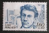 Poštovní známka Francie 1982 Louis Pergaud, spisovatel Mi# 2318