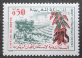 Poštovní známka Maroko 1970 Pěstování oliv Mi# 677