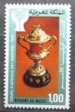 Poštovní známka Maroko 1976 Africký pohár ve fotbale Mi# 858