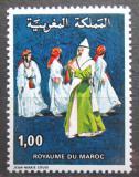 Poštovní známka Maroko 1978 Taneční skupina Mi# 889
