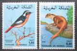 Poštovní známky Maroko 1979 Fauna Mi# 917-18 Kat 7€