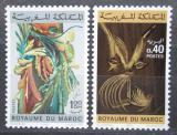 Poštovní známky Maroko 1980 Umění Mi# 945-46