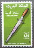Poštovní známka Maroko 1981 Stará zbraň Mi# 964