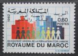 Poštovní známka Maroko 1982 Sčítání lidu Mi# 1003