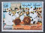Poštovní známka Maroko 1983 Národní festival lidového umění Mi# 1024