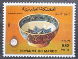 Poštovní známka Maroko 1984 Keramika Mi# 1050