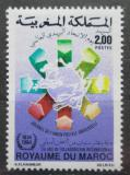 Poštovní známka Maroko 1984 Den pošty Mi# 1054